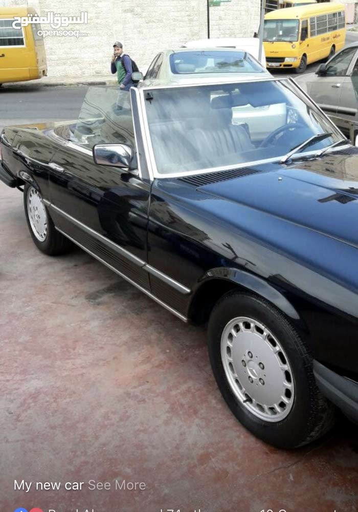 Available for sale! 0 km mileage Mercedes Benz SL 1984