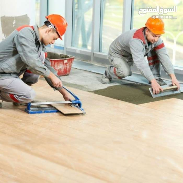 we are providing all tiles and flooring services in Bahrain