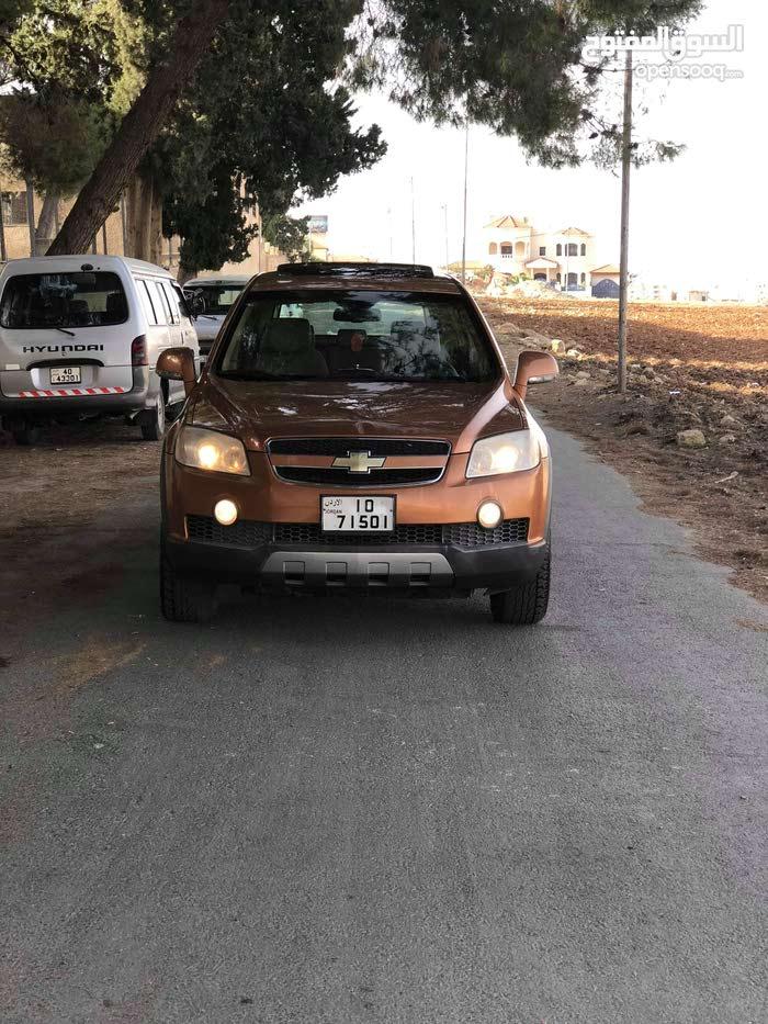 Chevrolet Captiva car for sale 2008 in Irbid city