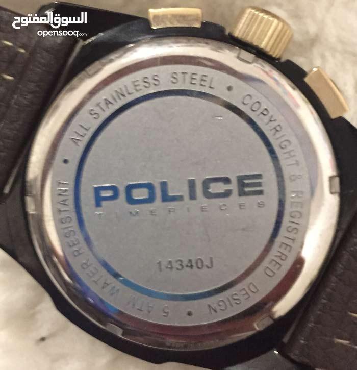 cca7ed7cb للبيع ساعة أصلية ماركة police - (104509606) | السوق المفتوح