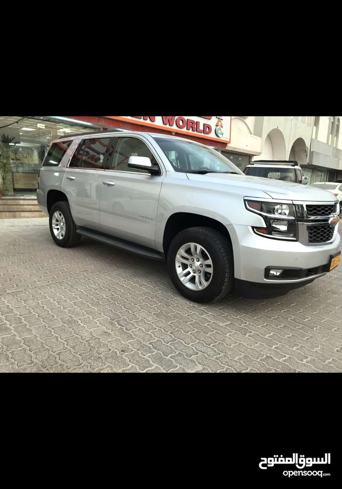 For sale 2015 Silver Tahoe