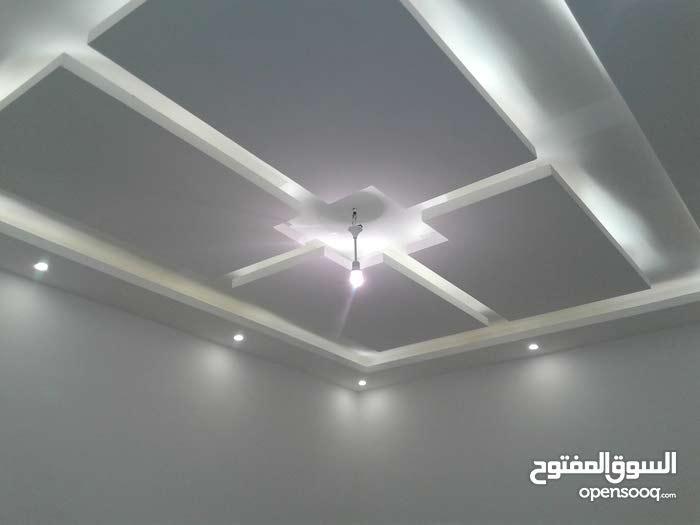 فراس أبو زيدان لتوريد وتنفيذ كافة أعمال وتصاميم اسقف وقواطع الجبس بورد واسقف الف