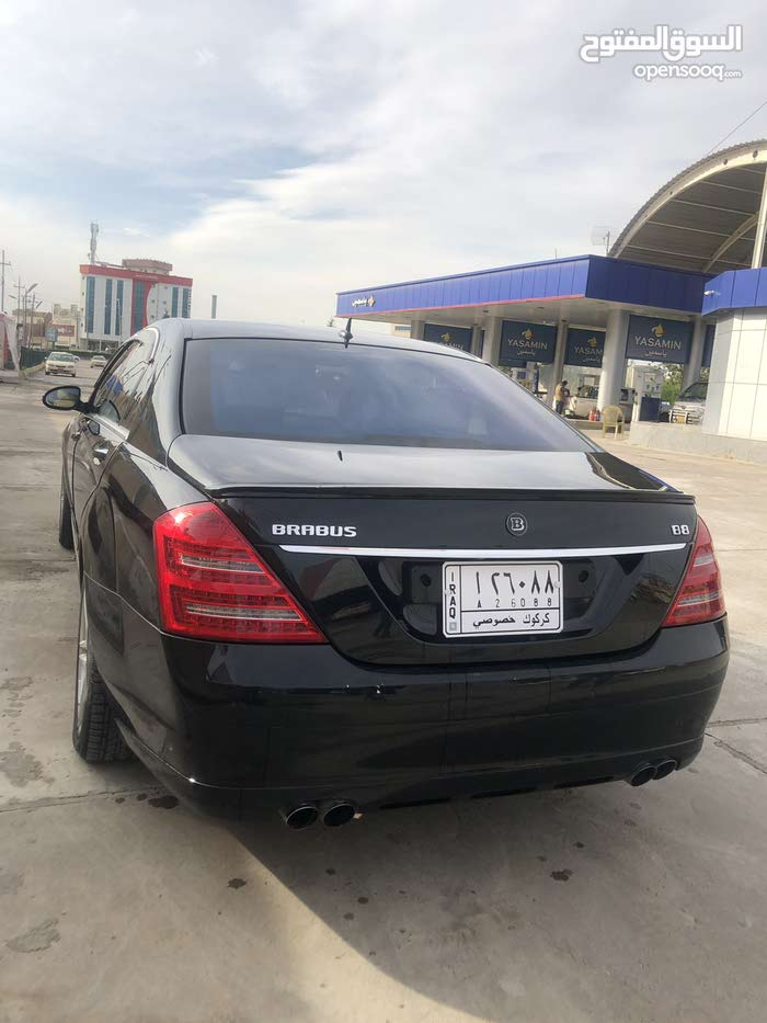 Used condition Mercedes Benz S 500 2007 with  km mileage