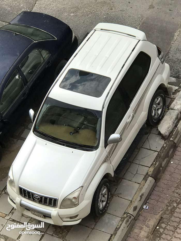 Toyota Prado 2003 For sale - White color