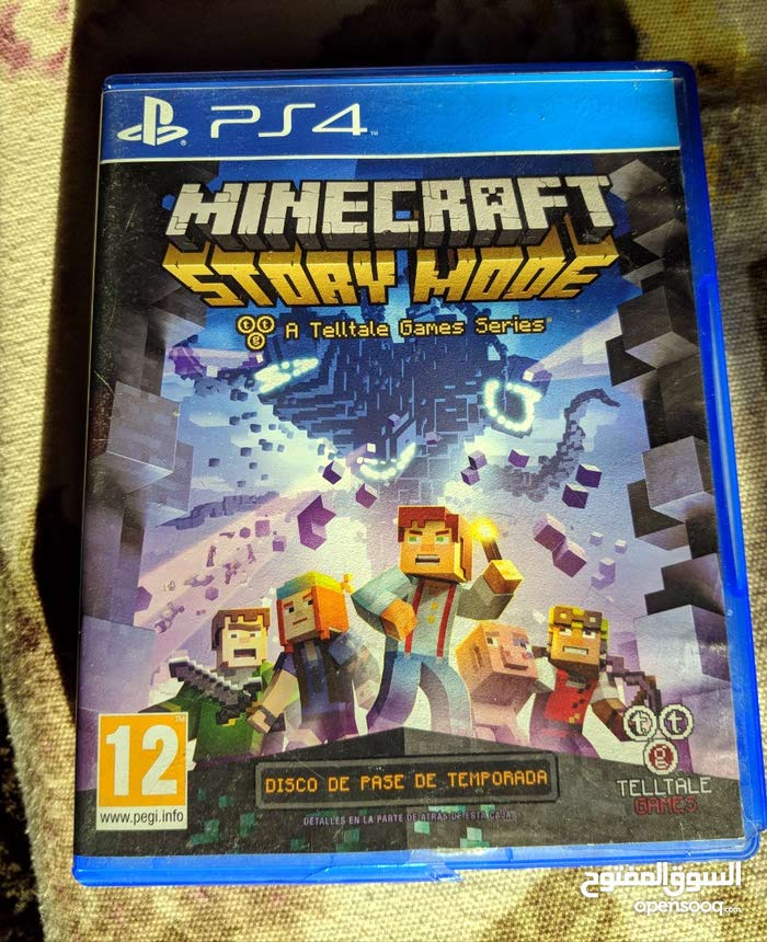 Minecraft Storymode PS4