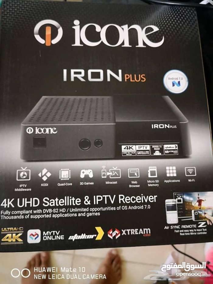 رسيفر ايكون ايرون بلس ICONE IRON PLUS 4K