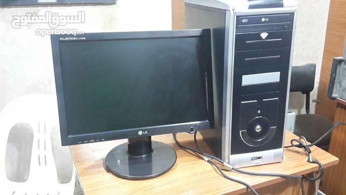 كمبيوتر كامل مع شاشة للبيع بسعر مغري