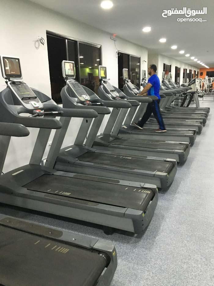 اجهزة ركض أمريكية  Treadmills مستعملة ومستوردة من امريكا + قطع اصلية مستوردة من امريكا