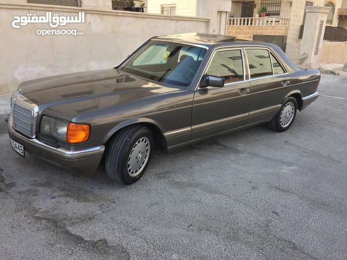 Mercedes Benz S 280 car for sale 1985 in Amman city