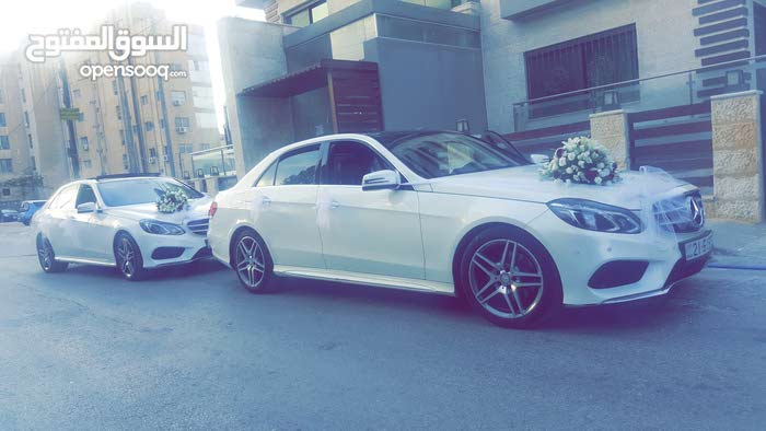 E 200 2018 for rent in Amman