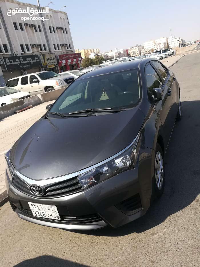 Toyota Corolla car for sale 2016 in Jeddah city
