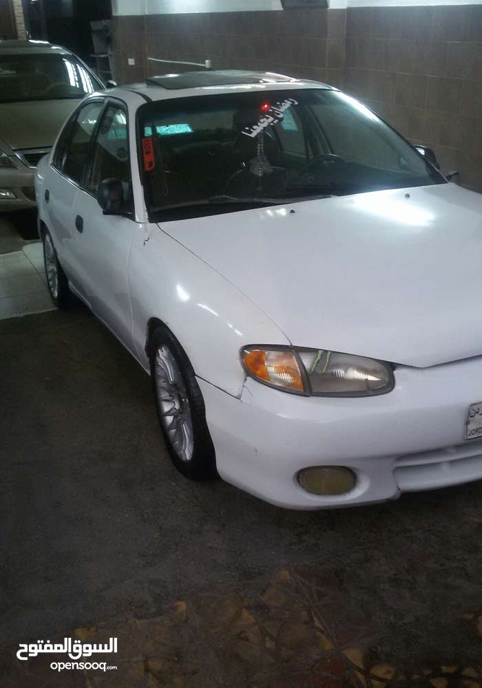 For sale 1995 White Accent