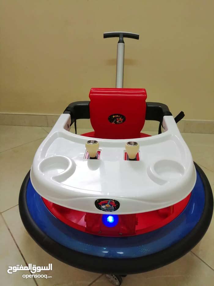 عربات اطفال كهربائية مع مقبض و ريموت