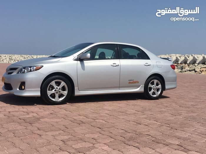 For sale 2013 Silver Corolla