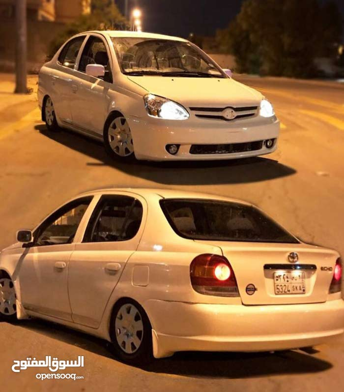 White Toyota Echo 2003 for sale