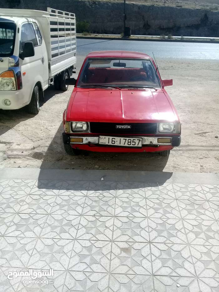 Toyota Corolla car for sale 1981 in Amman city