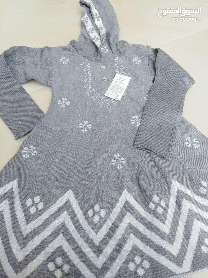 ملابس صوفية للبنات العمر من 2 سنه إلى 6 سنوات