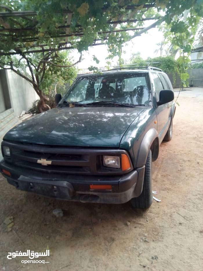 Chevrolet Blazer car for sale 1997 in Al-Khums city
