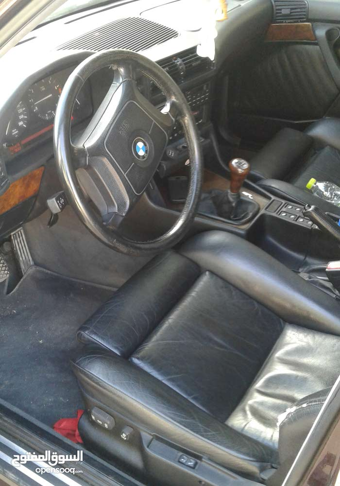 Maroon BMW 525 1995 for sale