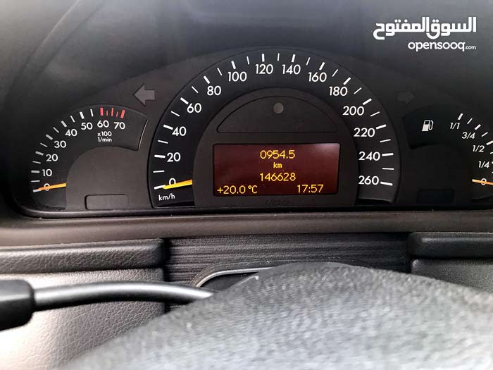 Manual Grey Mercedes Benz 2002 for sale
