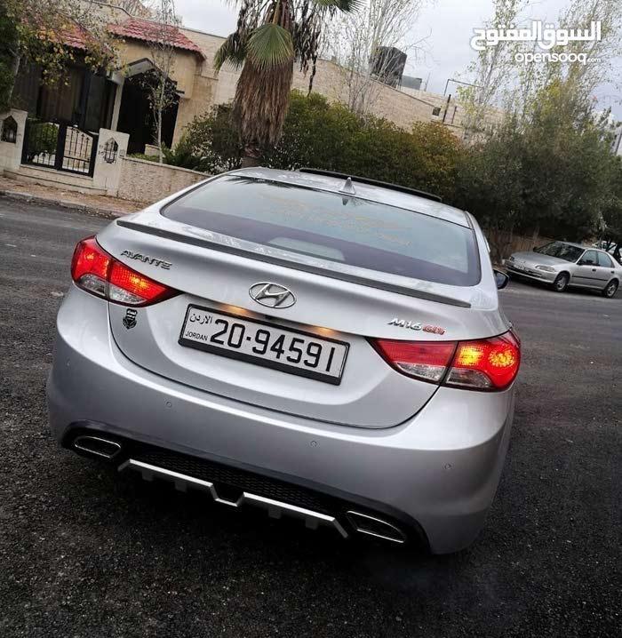 Gasoline Fuel/Power car for rent - Hyundai Avante 2015