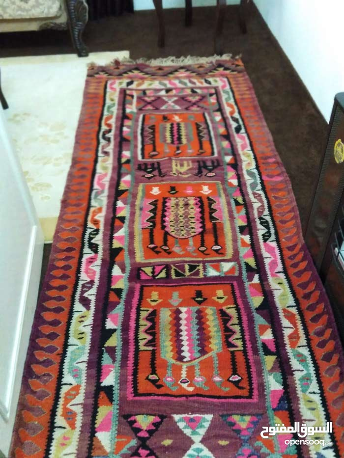 SALE!!! 2  pices of Antique  wool rug very beautiful  one with 2 sides