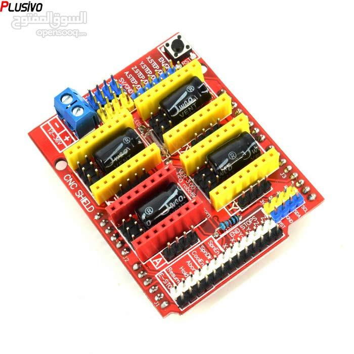 A4988 CNC Shield v3 for Arduino - وحدة تحكم CNC A4988 للاردوينو