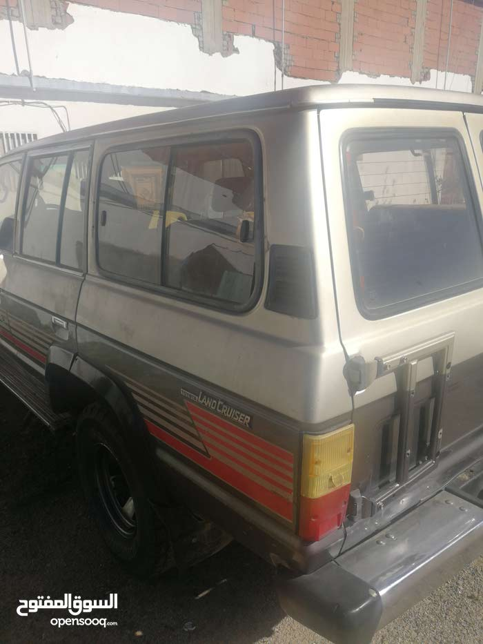 Toyota Land Cruiser 1989 For sale - Silver color