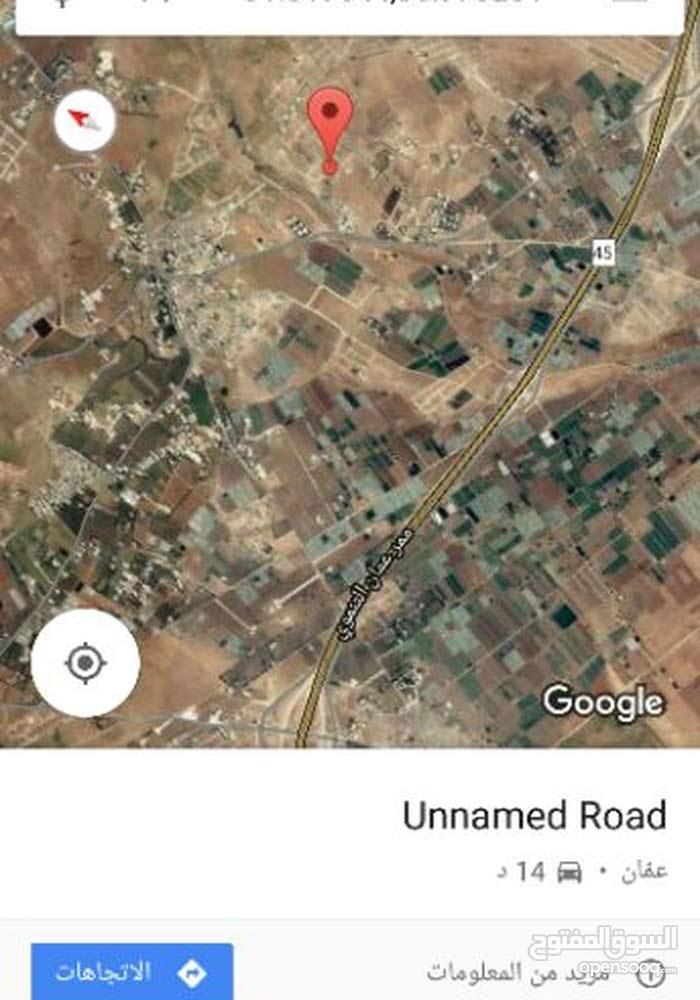 ارض 600م للبيع في اللبن حوض أبو دبوس