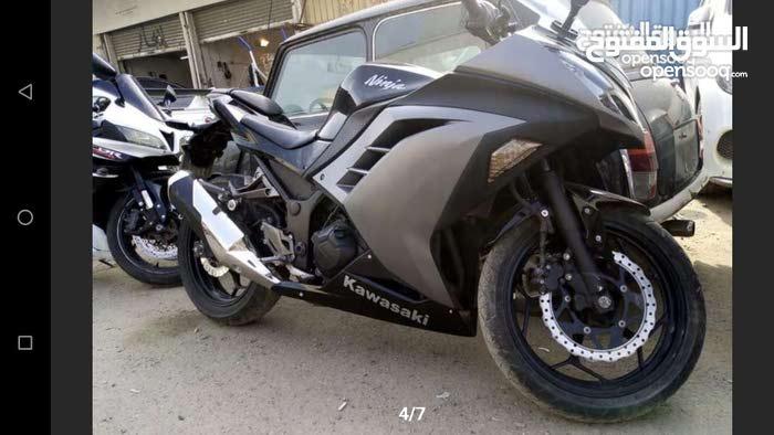 Kawasaki Ninja 300 Bike 2015 Model In Good Condition For Sale In
