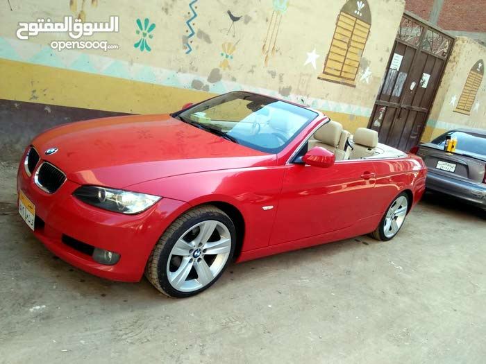 Automatic Red BMW 2010 for sale