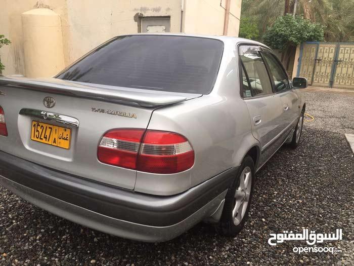 Toyota Corolla car for sale 1999 in Rustaq city