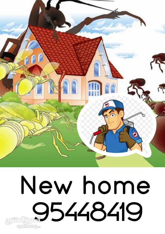 تنظيف وتلميع المباني ومكافحة الحشرات