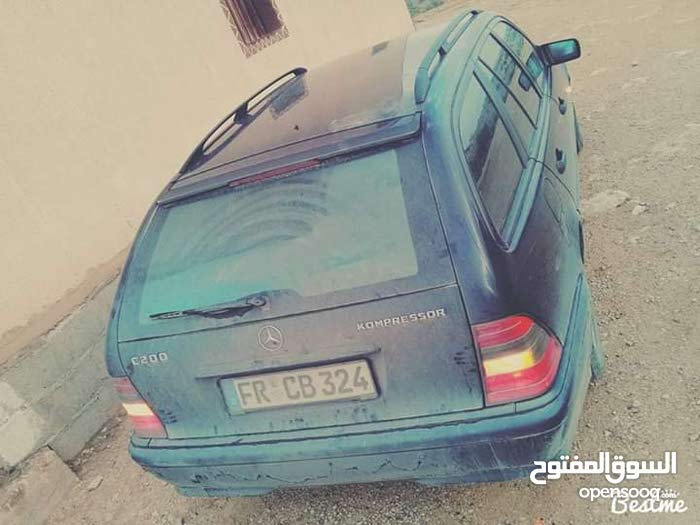 Blue Mercedes Benz C 200 2000 for sale