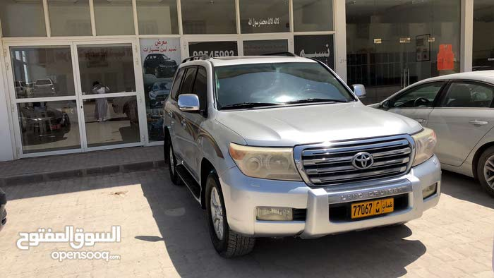 Silver Toyota Land Cruiser 2009 for sale