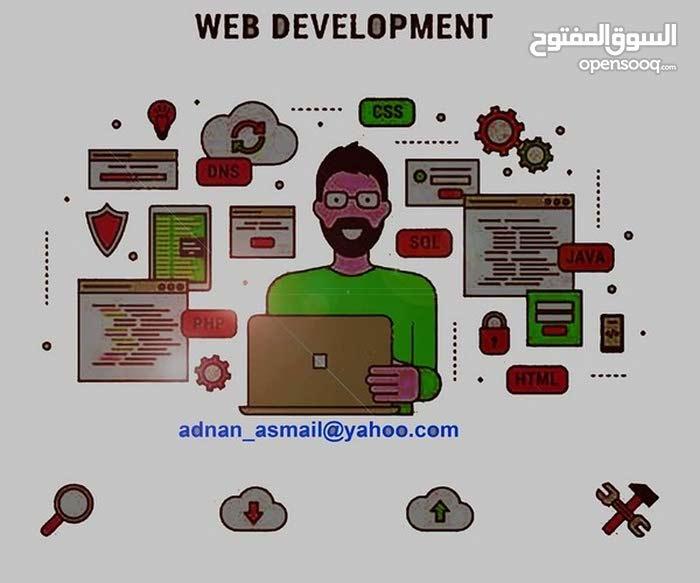 مطلوب مصمم و مبرمج مواقع إلكترونية برمجة خاصة web developer