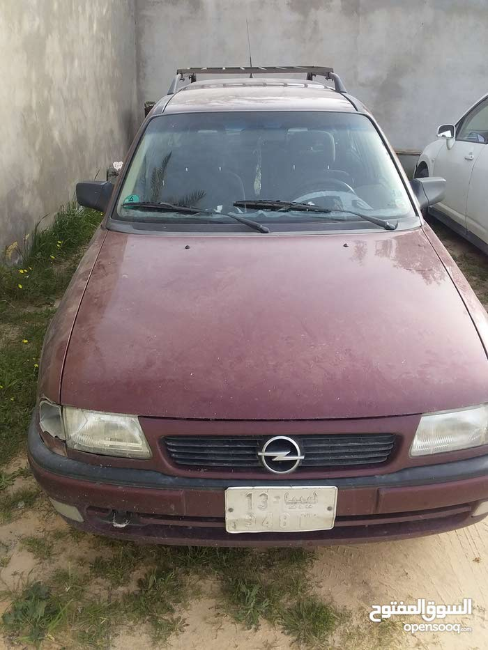 +200,000 km Opel Astra 1997 for sale