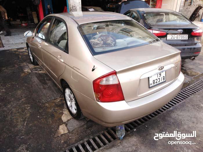 Gold Kia Spectra 2004 for sale