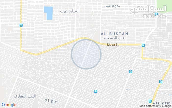قطعه ارض في اب سعد مربع 18 درجه اولى 500م