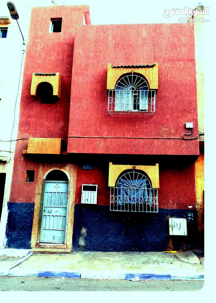 منزل للبيع سفلي سكني+طابق اول وسطح