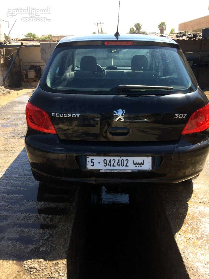 Peugeot 307 car for sale 2005 in Tripoli city
