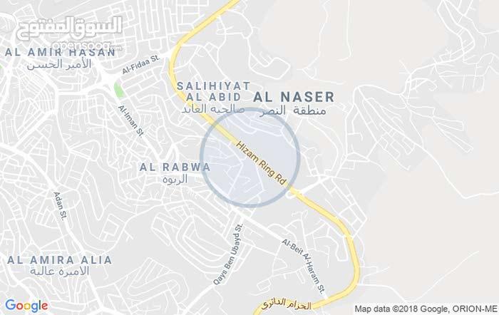 ارض تجاري للبيع (عمان-شارع الحزام الدائري-قرب جسر صالحية العابد)