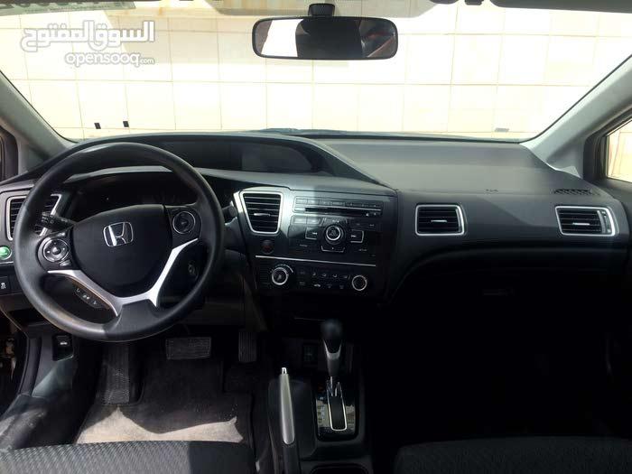 سياره هوندا سيفيك 2014 لقطه للبيع