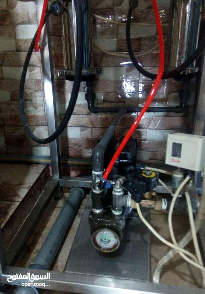 محطة تعبئة مياه 20 لتر للبيعلعدم التفرغ