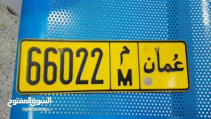 رقم سيارة مميز 66022/م