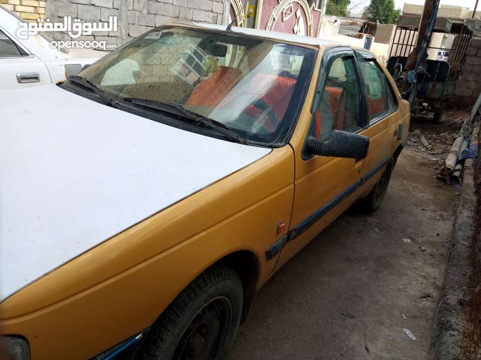 Manual Orange Peugeot 2012 for sale