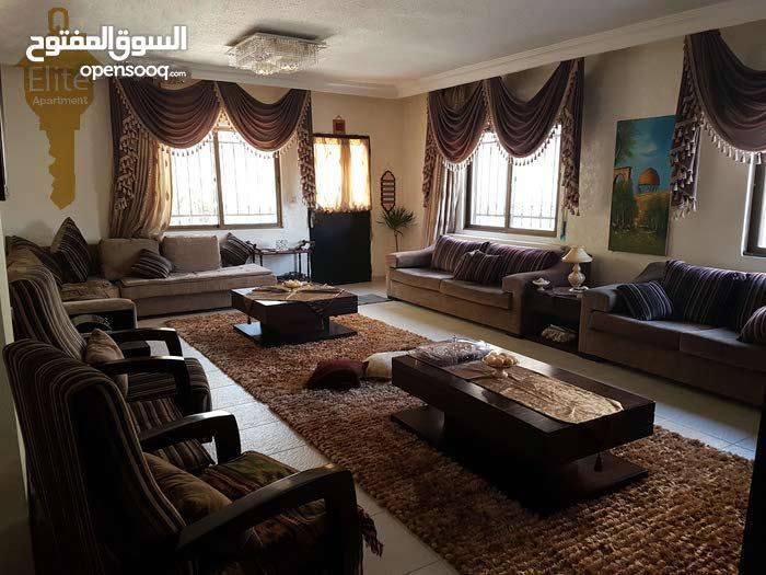 Jubaiha neighborhood Amman city - 280 sqm apartment for sale