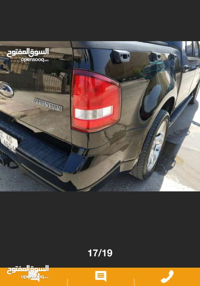 Automatic Ford Sport Truck Explorer 2010