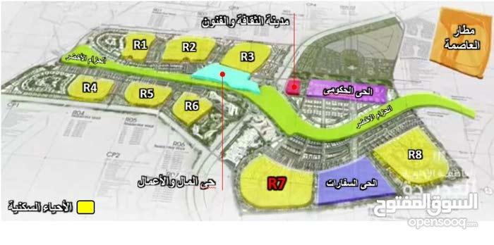 شقة 160م للبيع بكمبوند ب العاصمة الإدارية بجوار كمبوند سيليا طلعت مصطفي