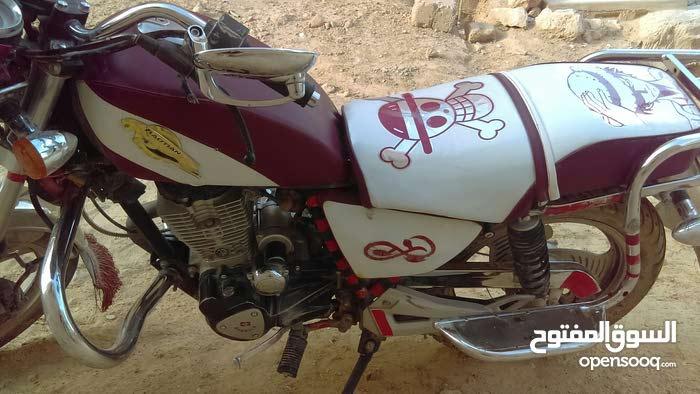 دراجه ناريه بوتيان مطور عليها 200 الف ريال حضرموت القطن